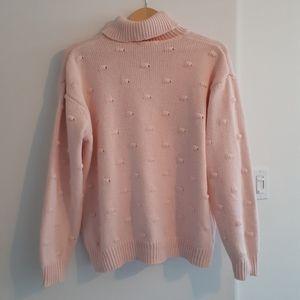 Draper James x Eloquii Pale Pink Sweater